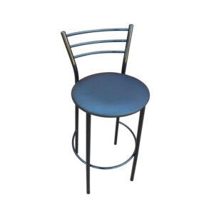 стул барный синий