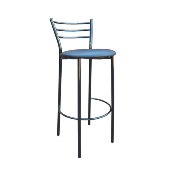 барный синий стул
