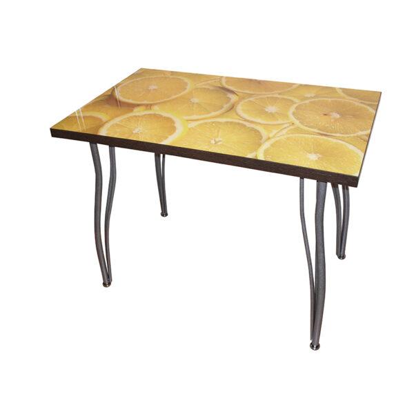 стол на изогнутых опорах